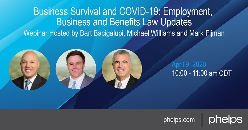 Business Survival and COVID-19: Employment, Business and Benefits Updates